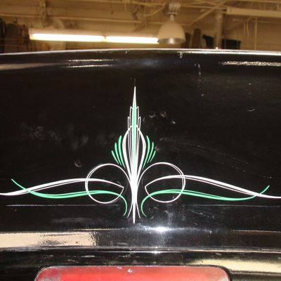 Photo S And Images Of Custom Painted Pinstripe Art On Cars And Motorcycles