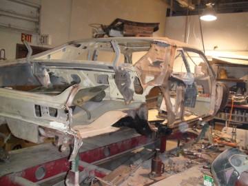 action al 39 s auto body shop collision repair hanahan gy 4000 car frame